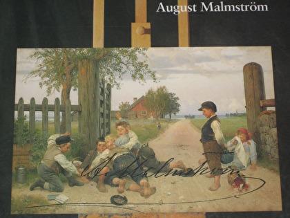 Konstnären August Malmström var en ofta sedd gäst på Ensjöholm