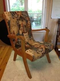 Läcker barnstol från 1960 talet