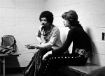 Jimi Hendrix & Mick Jagger, New York, 1969
