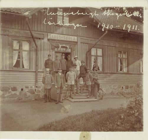Hunnebergs skogsskola, lärlingar 1910-1911