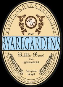 Byaregårdens Bubble Brew är en uppfriskande läsk & slow drink från Byaregårdens Brygghus i Varberg, Halland