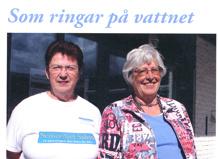 Pia Eriksson och Lena Seger