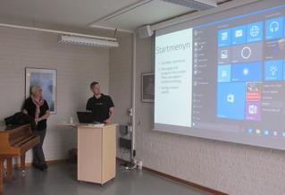 Peter Karlsson, Din Dator Södertälje och Gun-Britt Svanström