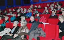 Ett sextiotal besökare lyssnade uppmärksamt på budskapet om  bedrägerier