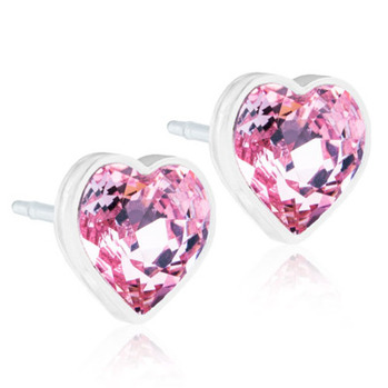 Blomdahl - HEART LIGHT ROSE, 6 MM