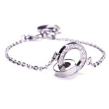 Edblad - Eternity orbit thin bracelet steel