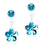 Blomdahl - PENDANT FLOWER AQUAMARINE, 4/6 MM