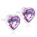 Blomdahl - HEART LIGHT AMETHYST, 6 MM