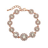 Lily and Rose - Sienna Crystal (rose gold) armband