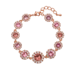 Lily and Rose - Sienna blush rose armband