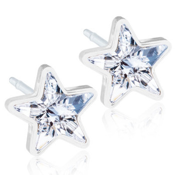 Blomdahl - Star plast Crystal/Rainbow/Jet/Golden rose - Blomdahl - Star plast crystal