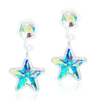 Blomdahl - PENDANT STAR RAINBOW, 4/6 MM