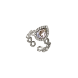 Lily and Rose - Carlotta ring crystal (silvershade)