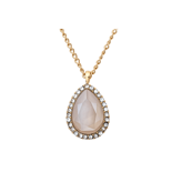 Lily and Rose - Amy necklace lacour ivory (gold)