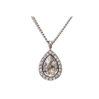 Lily and Rose - Miss Amy necklace crystal (silvershade)