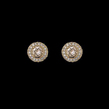Lily and Rose - Miss Miranda earrings light silk (Guld)