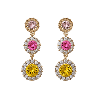 Lily and Rose - Sienna earrings light topaz