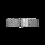 Rosefield - Silver meshlänk Silver / 33mm