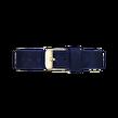 Rosefield - Sammetsblå armband Guld / 33mm
