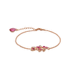 Lily and Rose - Laurel bracelet rose
