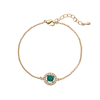 Lily and Rose - Miss miranda bracelet emerals (gold)