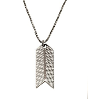 Edblad - Herringbone Necklace Steel
