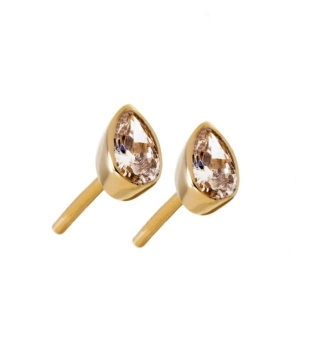 Edblad - Little Drop Studs Gold