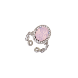 Lily and rose - Lively ring rose opal