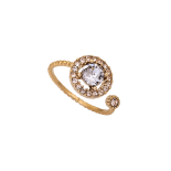 Lily and rose - Miranda ring Smokey Mauve (Gold)