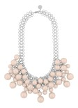 Snö - Poppi Tassel Necklace Silver/Pink
