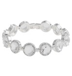 Snö -  Lissy Bracelet Silver/Clear