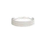 Snö - Elwa Bracelet 3-String Silver