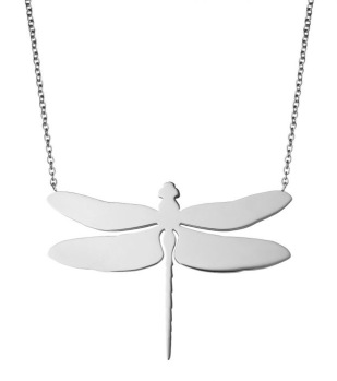 Edblad - Dragonfly Necklace Large Steel