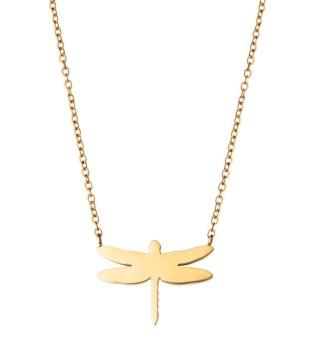 Edblad - Dragonfly Necklace Gold