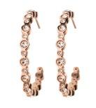 Edblad - Norah Creole Earrings Rose Gold
