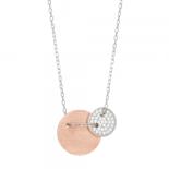 Jonali Nor - Bella silver/rosé halsband