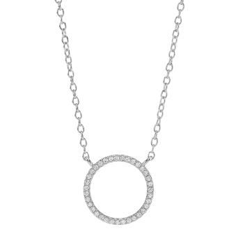 Joanli Nor - Anna silver cz halsband