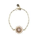 Snö - Judith Chain Bracelet Gold/Matt Pink