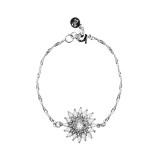 Snö - Judith Chain Bracelet Silver/Clear