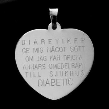 Diabeteshjärta 26*26*0,5 925