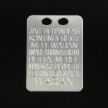 Waranbricka 19*27*0,5 925