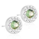 Blomdahl - BRILLIANCE HALO CRYSTAL/ERINITE, 8 MM
