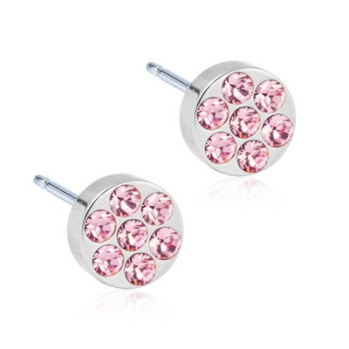 Blomdahl - BRILLIANCE PLENARY LIGHT ROSE, 5 MM