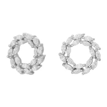 Joanli Nor - Bibbi 13mm silver öra