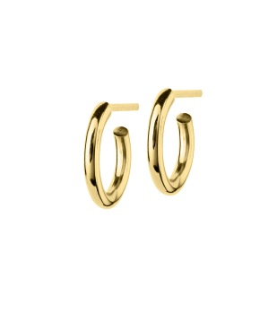 Edblad - Hoops earrings small gold