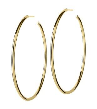 Edblad - Hoops earrings gold large