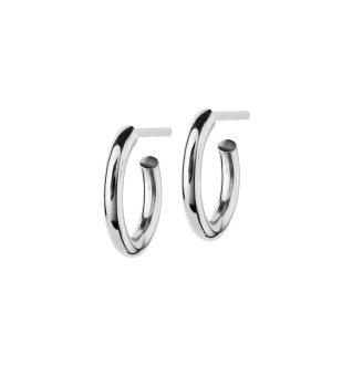 Edblad - Hoops earrings steel small