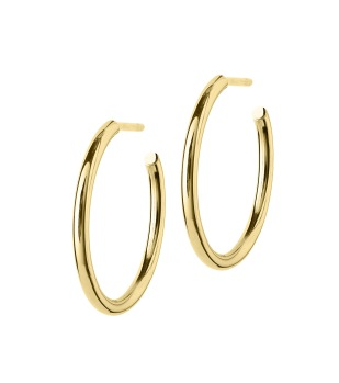 Edblad - Hoops earrings medium gold