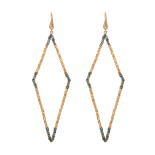 Lily and rose - JAGGER EARRINGS – INDIAN SAPPHIRE
