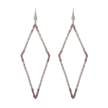 Lily and rose - JAGGER EARRINGS – ROSE PEACH